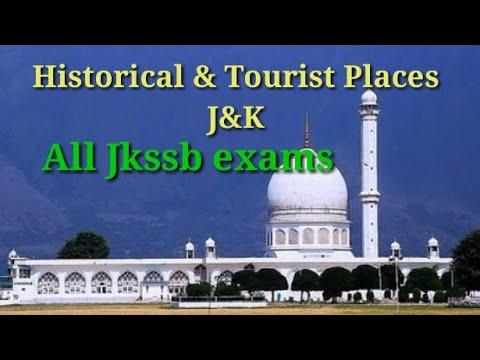 Tourist & Historical places of J&K