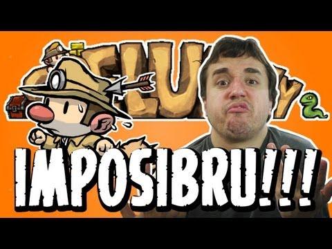 TRECO IMPOSSÍVEL! - Spelunky