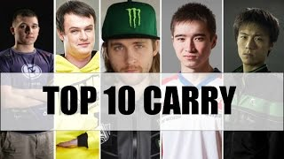 Top 10 Carry Player Dota 2