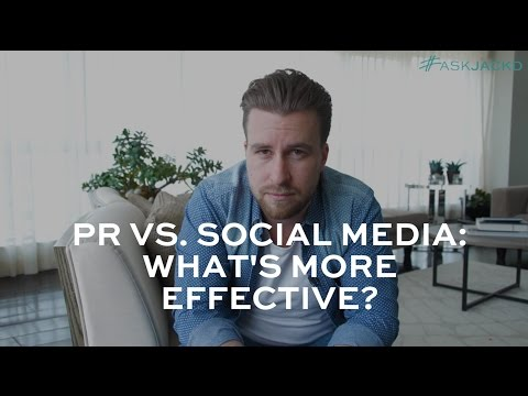 Would You Rather: Spend Money on PR or Social Media? | #AskJackD 236