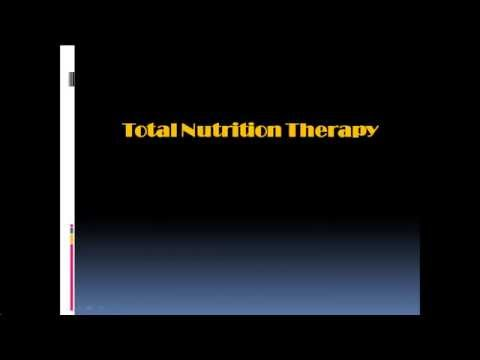 TNT (Total Nutrition Therapy) Course Indonesia 2013