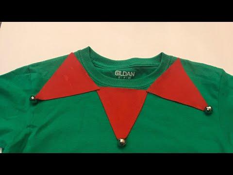 DIY elf shirt