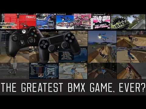 The Greatest BMX Game, Ever? - Mat Hoffman's Pro BMX 2