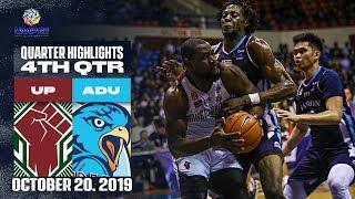 UP vs. AdU - October 20, 2019  | 4th Quarter Highlights | UAAP 82 MB