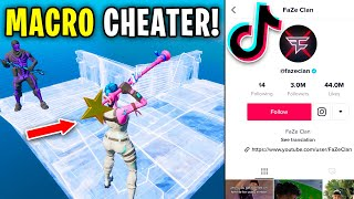 I let a MACRO CHEATER tryout for my TIKTOK clan... (exposed)