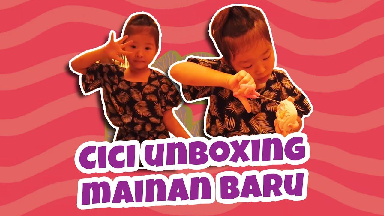 MOP KIDS - Cici unboxing mainan baru, dijailin Thania