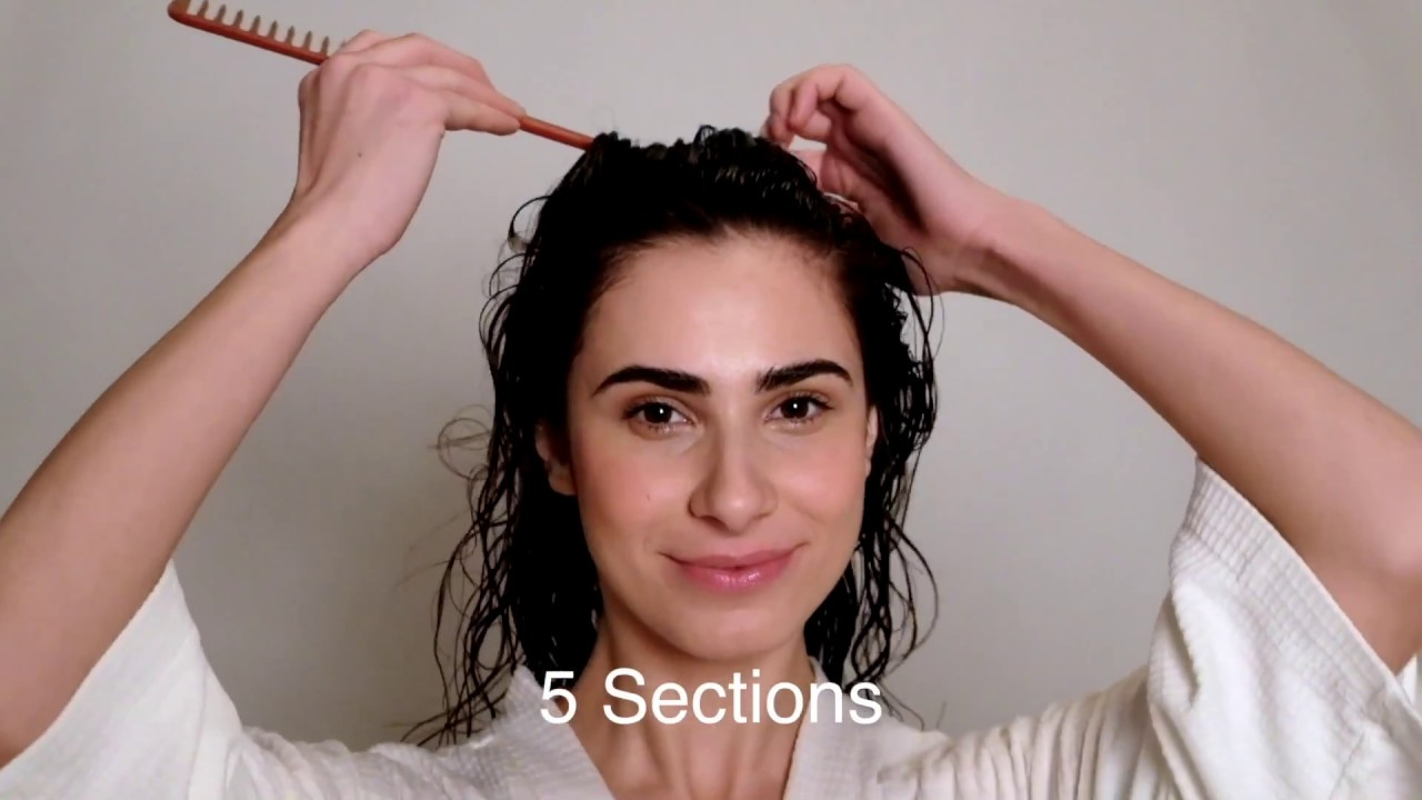 How To Style Naturally Curly Hair Wavy To Loose Curls Tutorial