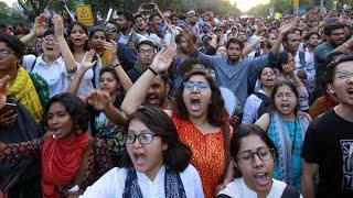 JNU Protest Over Fee Hike On Convocation Day | Students Vs Police