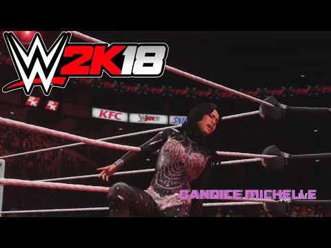 WWE 2K18- Candice Michelle Entrance (CAW)