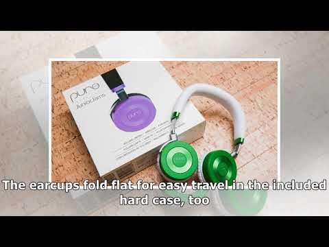 Kid-friendly juniorjams headphones make music sharing easy