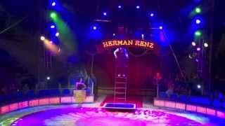 clown joanes free ladder act circus herman renz