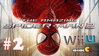 The Amazing Spider-Man 2 Walkthrough Gameplay Part 2 (PS3 PS4 Xbox One Xbox 360 Wii U 3DS) 1080p