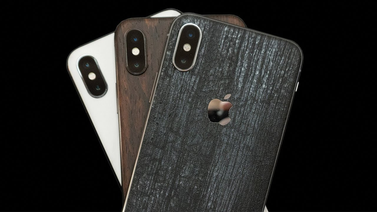 newest c1bae 7c349 DBrand iPhone X Review! Black Dragon, Mahogany, White Marble | The BEST  iPhone skin!