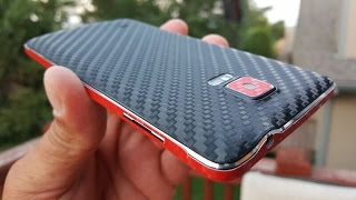 Dbrand carbon fiber skin - Galaxy Note 4