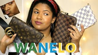 WANELO REPLICA BAG REVIEW | COMPARING THE REAL TO FAKES | LOUIS VUITTON POCHETTE FELICIE
