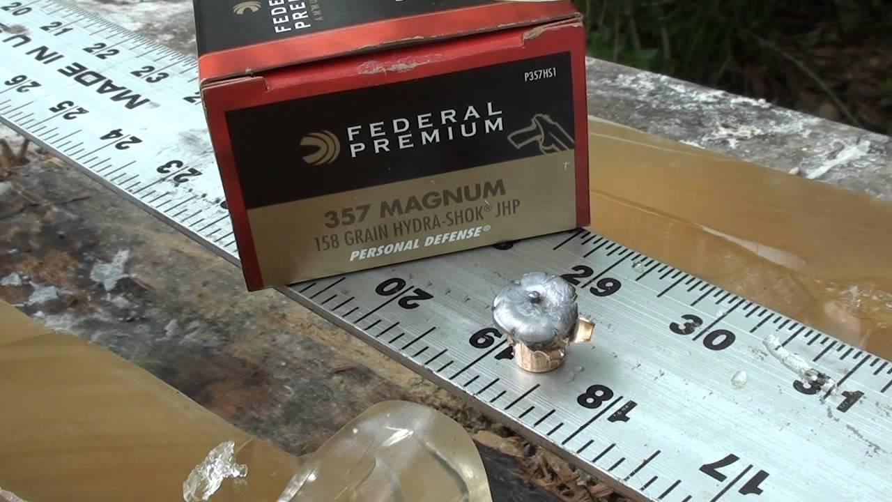 357 magnum federal hydra shok