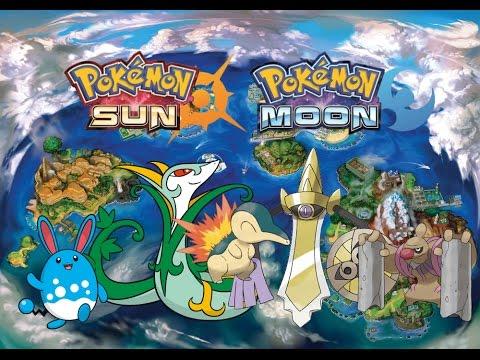 pokemon sun and moon all island scan pokemon youtube