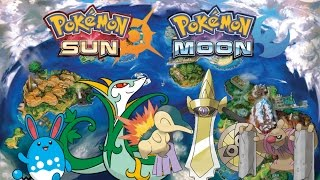 Pokemon Sun and Moon All Island Scan Pokemon