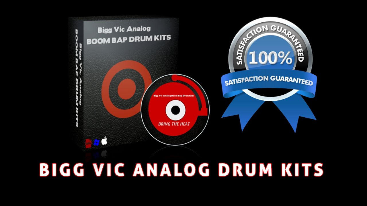 New Bigg Vic Analog Boom Bap Drum Kits Fire Sale Demo Using Akai
