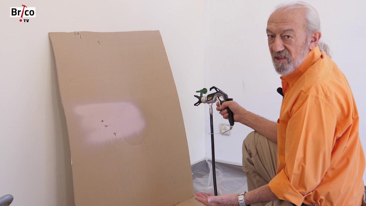 Peindre Les Murs Au Pistolet Airless Basse Pression