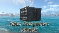 Fallout 4: Place Everywhere Mod Tutorial (deutsch)