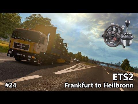 ETS2 #24 - MAN F90 v3.0.1 - Promods 2.10 - Frankfurt to Heilbronn - Parking Challenge