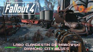 Fallout 4 - Secret / Emplacement du labo clandestin de Marowski - Mission : Diamond City Blues