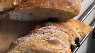 Итальянский кручёный хлеб с оливками Обалденно вкусно
