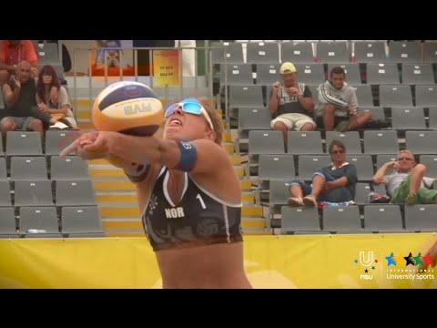 7th World University Beach Volleyball Championship 2014 - Porto - Portugal