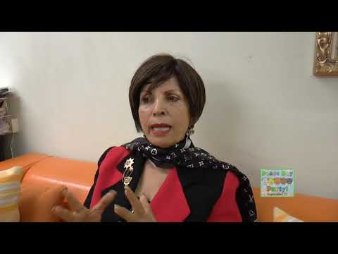 Dame Munni Irone Comes from Beverly Hills to Support our Peace Day Party in Times Square...