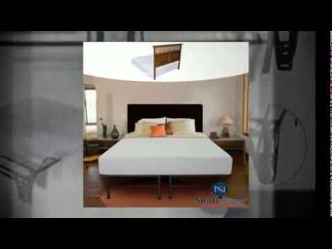 king size bed frame with headboard and footboard attachments youtube