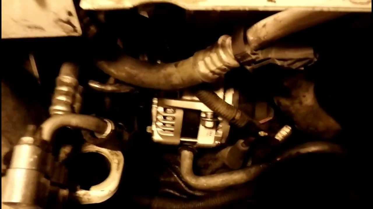 Installing Alternator In 2002 Cadillac Deville