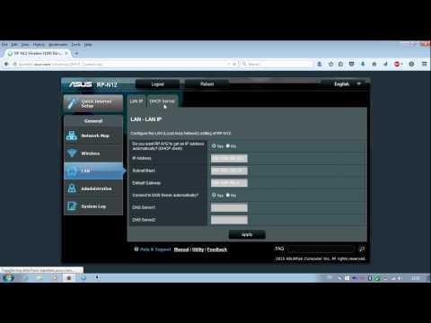 ASUS RP-N12 Admin Options Walkthrough [PCAXE.COM]