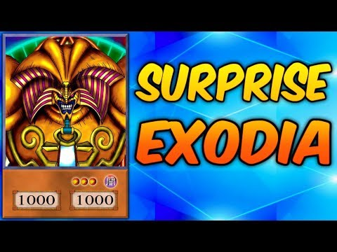 SURPRISE EXODIA! - Yugioh Trolling with