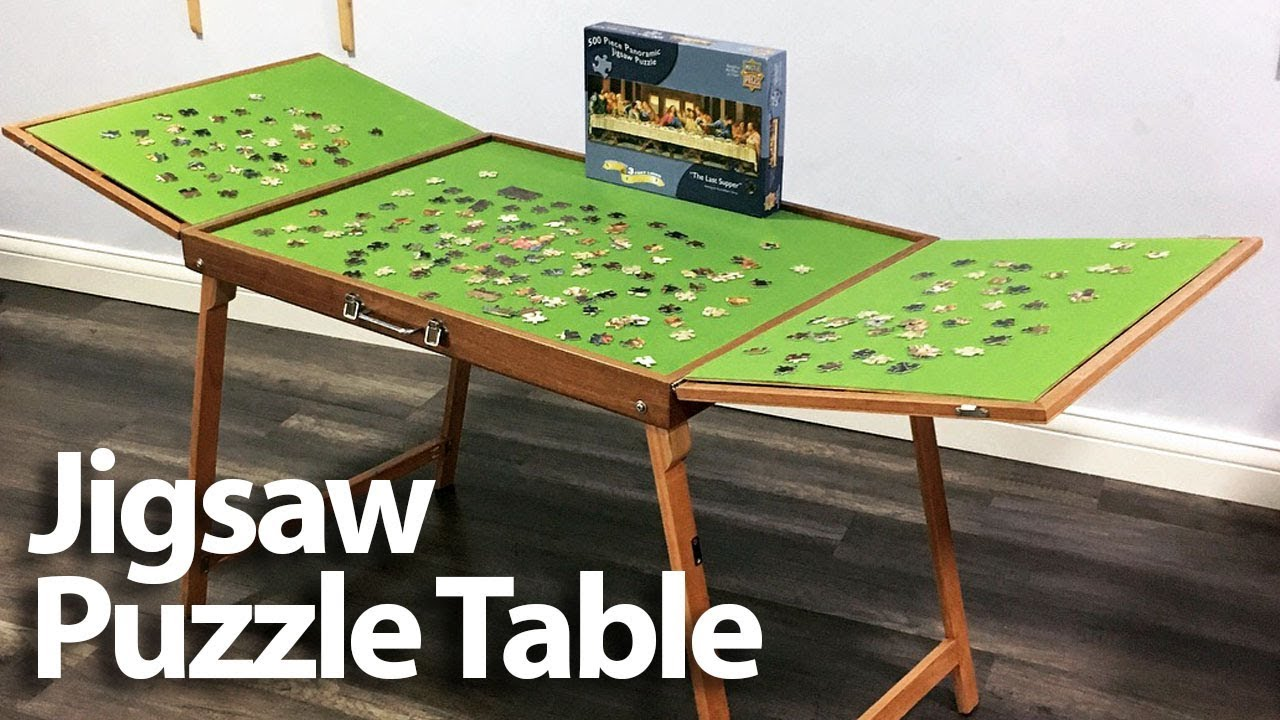 Jigsaw Puzzle Table Youtube