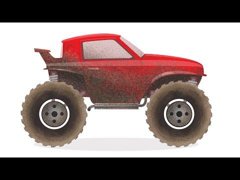 Игра Машина-монстр онлайн (Monster Truck Rage) - играть