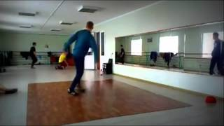 Glass-Shattering Breakdance Fail