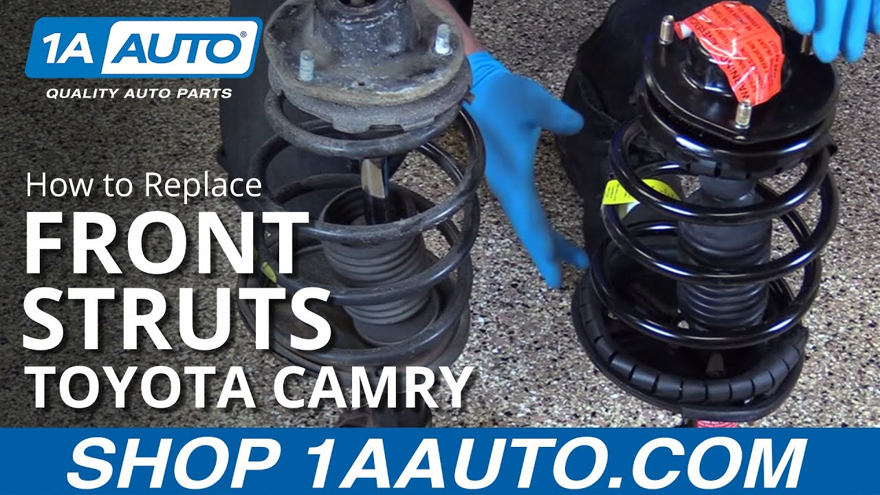 How To Replace Front Struts 97 01 Toyota Camry