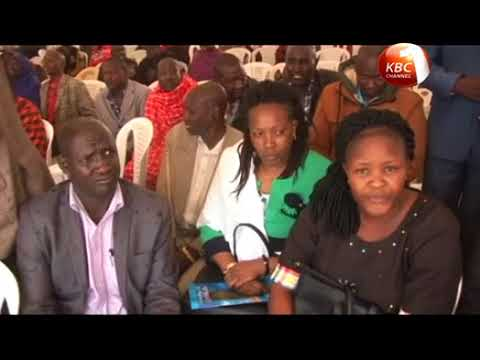 A section of leaders from Maa Community oppose dialogue between Jubilee and NASA