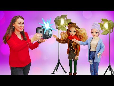 Игры в куклы для девочек. Соня Роуз и модные тренды. Истории девочкам GullGirl.