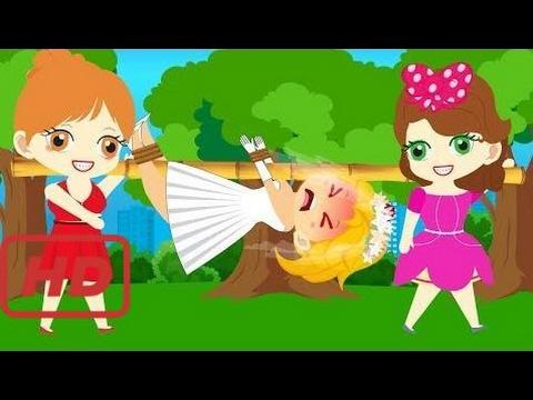 NEW ELSA vs Anna, Sofia Jealous Scramble Ryder in Love Full Episodes! Finger Family Song Nursery Rh