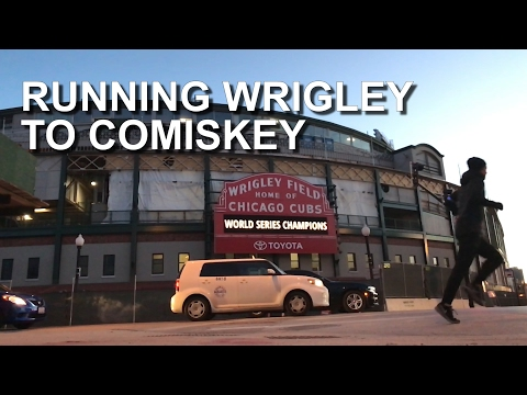 WRIGLEY FIELD TO GUARANTEED RATE FIELD - RUN CHICAGO