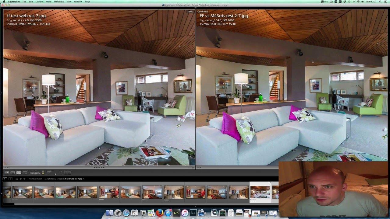 Nikon D4 Vs Panasonic GH4 Full Frame Micro4 3 Property Shoot 2