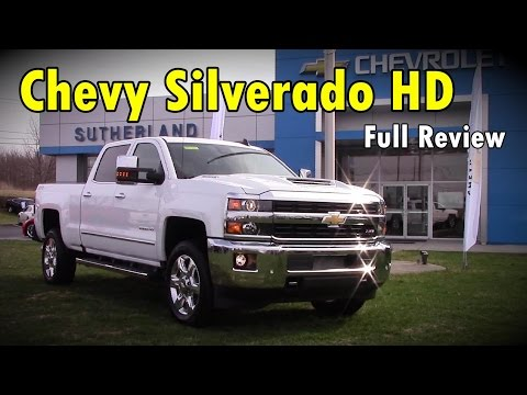 2017 Chevrolet Silverado 2500HD / 3500HD: Full Review | High Country, LTZ, Z71, LT & Duramax Diesel