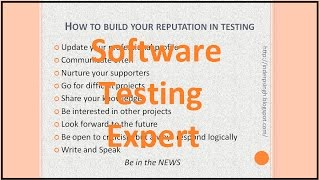 SOFTWARE TESTING EXPERT | How to be a good Software Tester
