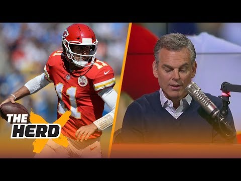 Colin Cowherd isn't falling for Alex Smith in the 2017-18 season | THE HERD