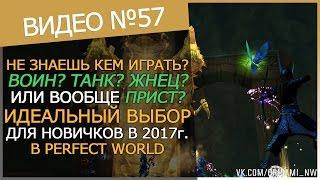 ЛУЧШИЙ ПЕРСОНАЖ ДЛЯ НОВИЧКА В PERFECT WORLD 2017
