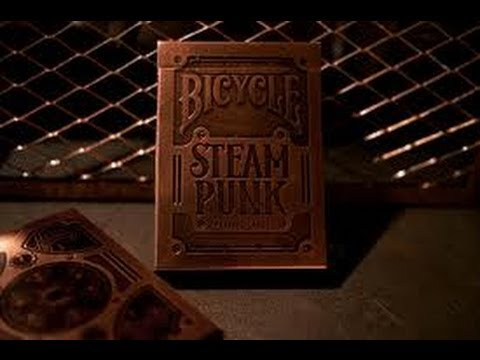 Bicycle Steampunk Deck Review Theory11 HD