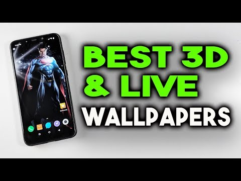 BEST 3D & LIVE WALLPAPERS For Your Android Phone 2018 [FREE] हिंदी