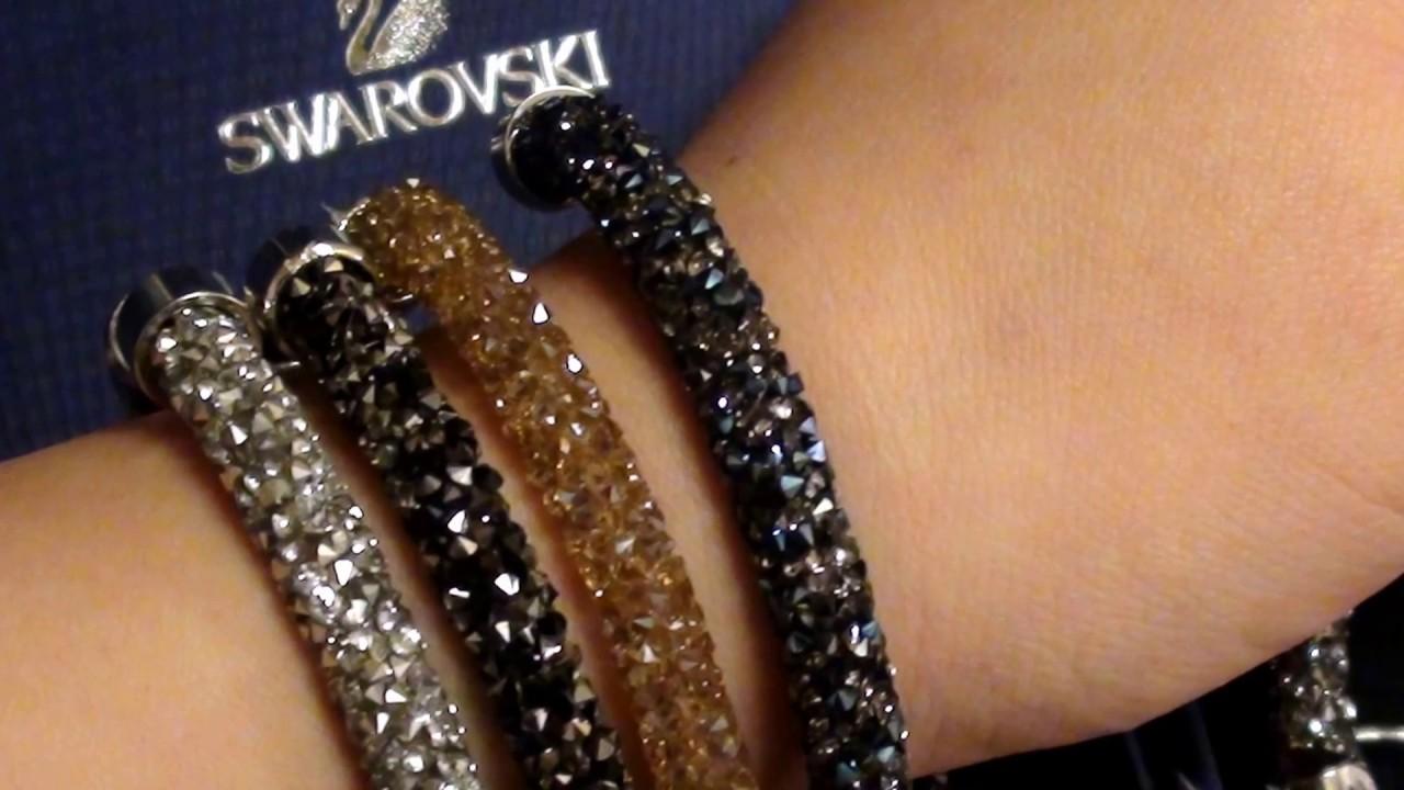 9a486e86410d6 Swarovski Crystal Crystaldust Wrap Bracelet
